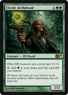 ***Black /& Green Elf Collection*** Elves Tribal Deck EDH MTG Rare Magic Cards