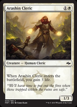 MERCILESS EXECUTIONER X4 Fate Reforged FRF Magic MTG MINT CARD