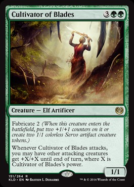 Cultivator of Blades