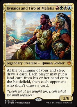 Oversized Foil - Kynaios and Tiro of Meletis