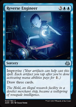 Deck Of The Day Mono Blue Storm