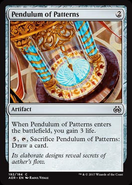 Pendulum of Patterns - Planeswalker Deck Exclusives (Aether Revolt)
