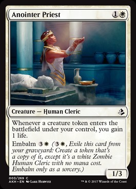 Deck Of The Day Oketra White Tokens Standard