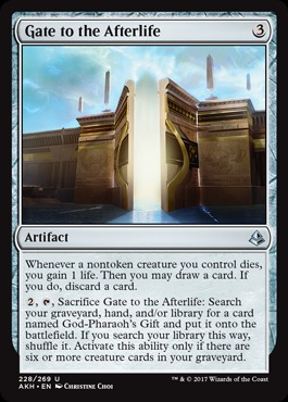 Deck of the day ur gift god pharaohs gift will give you value every turn creating 44 creature tokens with haste and enters the battlefield effects negle Gallery