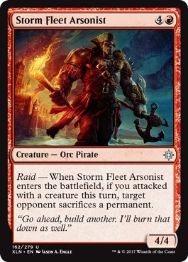 Storm Fleet Arsonist