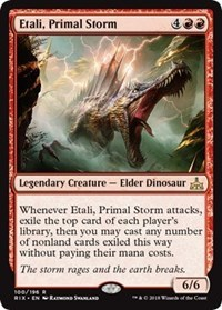 Commander: Etali, Primal Storm