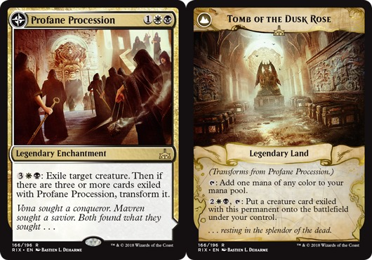 Profane Procession // Tomb of the Dusk Rose