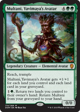 Dominaria EDH Set Review, Part 2: Green, Multicolor, and