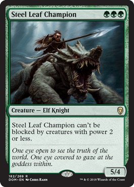 Steel Leaf Champion - Foil
