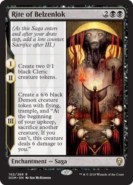 Mono-Black Control With Dominaria
