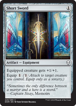 FOREBEAR/'S BLADE rare Magic the Gathering card Dominaria