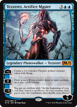 Tezzeret, Artifice Master