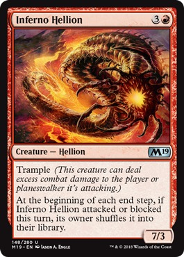 2x Spit Flame MTG Core Set 2019 NEW