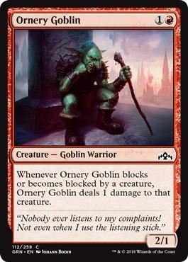 GRN 4x Goblin Cratermaker 4 MTG NM//M!!! Guilds of Ravnica