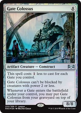 Gate Colossus - Foil Magic League Promo