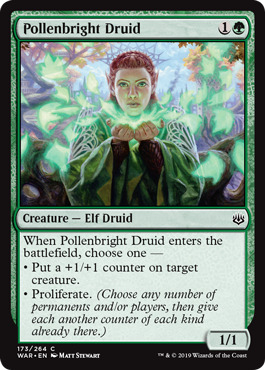 Wildcrafter War of the Spark Green Uncommon NM 4x Jiang Yanggu