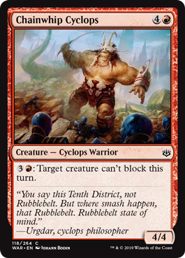 Chainwhip Cyclops