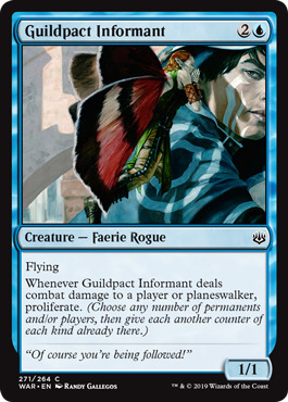 Guildpact Informant - Planeswalker Deck Exclusive