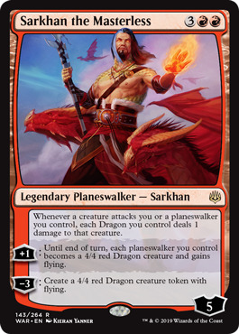 Sarkhan, the Masterless