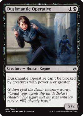 Duskmantle Operative