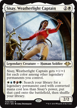 Sisay, Weatherlight Captain