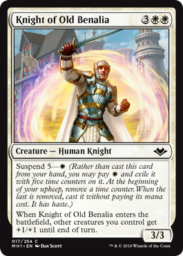 Knight of Old Benalia