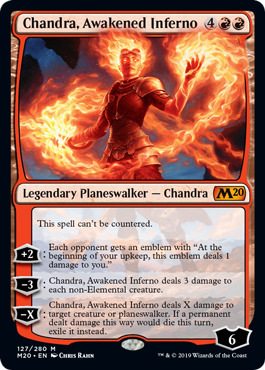 Chandra, Awakened Inferno