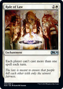 Rule of Law - Foil