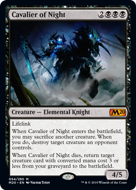 Cavalier of Night - Foil