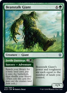 Throne of Eldraine MTG Green Rare NM Wicked Wolf
