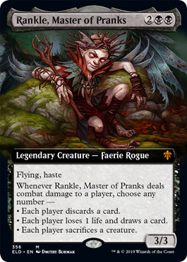Rankle, Master of Pranks - Extended Art