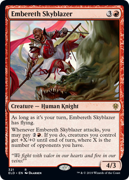 Embereth Skyblazer - Brawl Deck Exclusive