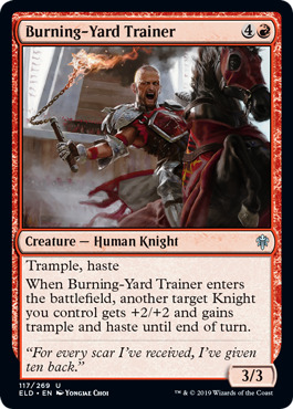 Burning-Yard Trainer