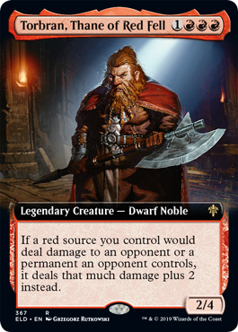 Torbran, Thane of Red Fell - Extended Art