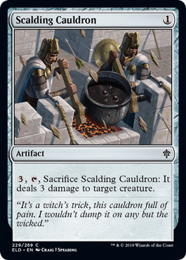 Scalding Cauldron - Foil