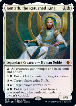 Kenrith, the Returned King - Foil - Buy-a-Box Promo