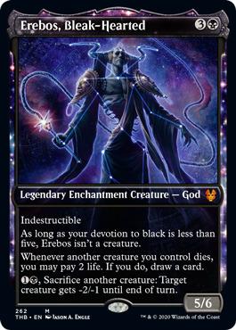 God of the Hunt MTG Theros Mythic Rare EDH Legend Nylea