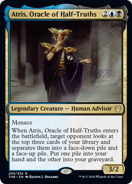 Atris, Oracle of Half-Truths