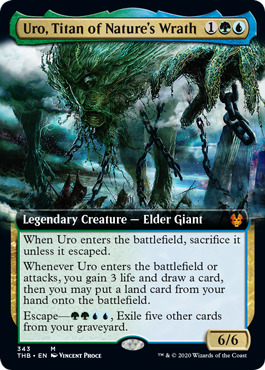 Uro, Titan of Nature's Wrath - Extended Art