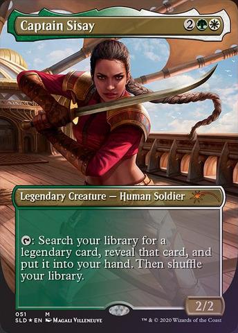 Foil Borderless Saskia the Unyielding Secret Lair Women/'s Day IN HAND!