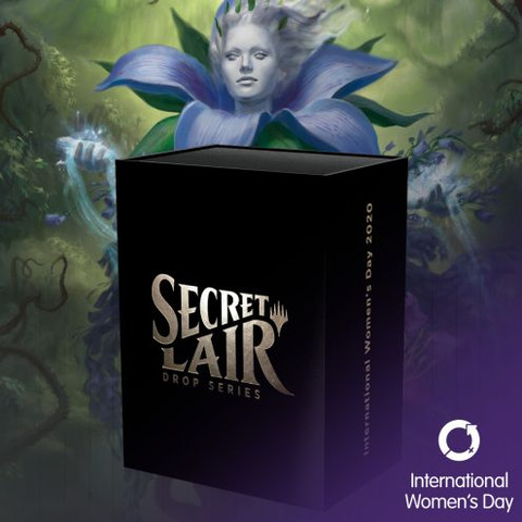 Brand New Secret Lair sealed International Women/'s Day 2020