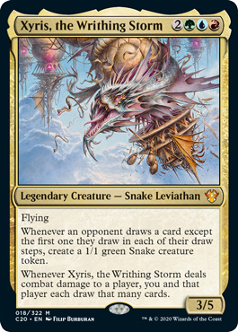 Xyris, the Writhing Storm - Foil