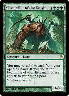 New Phyrexia ~ CHANCELLOR OF THE DROSS rare Magic the Gathering card