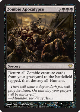 Modern Brewing Bring Out Your Dead Orzhov Zombies Channelfireball Magic The Gathering Strategy Singles Cards Decks Let's first consider the humans played in modern already: dead orzhov zombies channelfireball