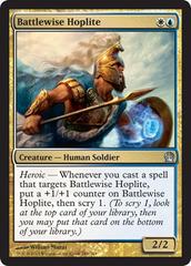 MTG 4x FAVORED HOPLITE Theros *Soldier Heroic*